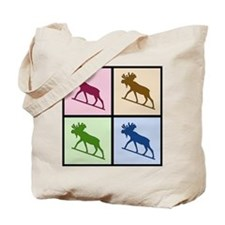 Moose (4 color) Tote Bag