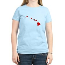 Red Hawaii T-Shirt