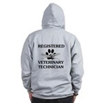 Registered Veterinary Tech Zip Hoodie