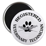 Registered Veterinary Tech Magnet
