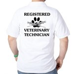 Registered Veterinary Tech Golf Shirt