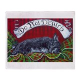 Scottish Terrier Slumber Throw Blanket