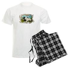 Pastoral Scottish Terriers Pajamas