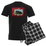 Vintage Scottish Terrier pajamas