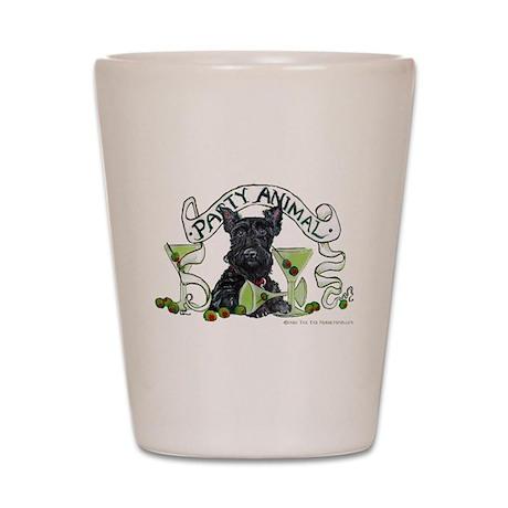 Scottish Terrier Martinis Shot Glass