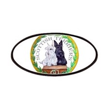 Scottish Terrier Crest Patches