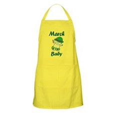 March Baby Apron