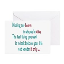Castle: Risking Our Hearts Greeting Cards (Pk of 2