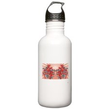 Grey birds Water Bottle