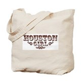 Houston Girl Tote Bag
