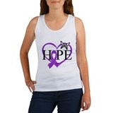 Epilepsy Hope Heart Women's Tank Top