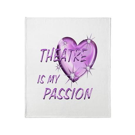 Theatre Passion Throw Blanket