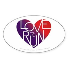 LoveToRun Decal