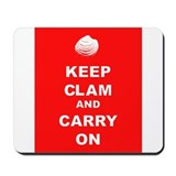 Keep Clam Mousepad