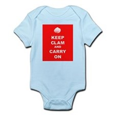 Keep Clam Infant Bodysuit