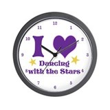 IheartDWTS Wall Clock