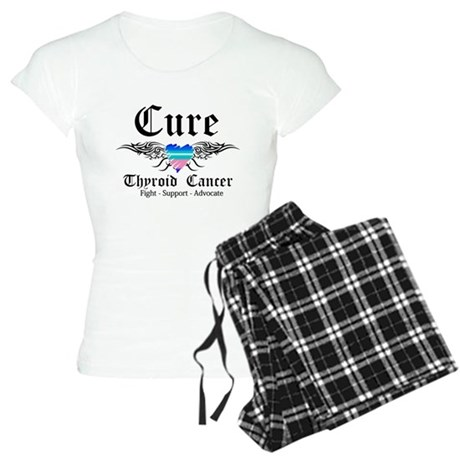 Cure Thyroid Cancer Women's Light Pajamas