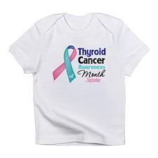 Thyroid Cancer Month Infant T-Shirt