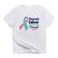 Thyroid Cancer Month Infant T-Shirt