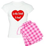 Love Makes World Go Around Women's Light Pajamas