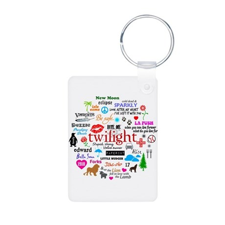Twilight Memories Aluminum Photo Keychain