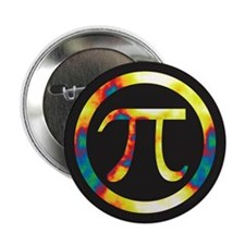 "Groovy Pi Math 2.25"" Button"