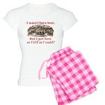Not Born Here Women's Light Pajamas