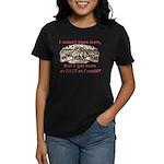 Not Born Here Women's Dark T-Shirt
