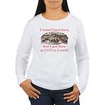 Not Born Here Women's Long Sleeve T-Shirt