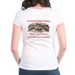 Not Born Here Jr. Ringer T-Shirt