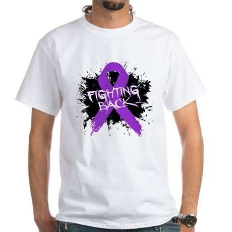 Fighting Back Alzheimers White T-Shirt
