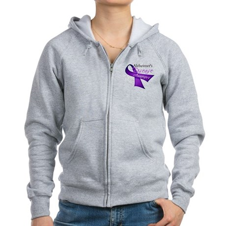 Alzheimer's Disease Women's Zip Hoodie