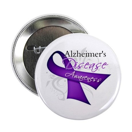 Alzheimer's Disease 2.25&quot; Button (100 pack)