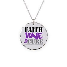 Faith Love Cure Alzheimers Necklace