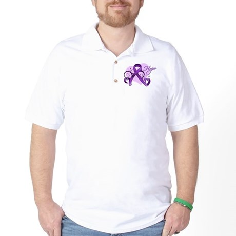 Hope Alzheimers Disease Golf Shirt