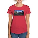 Beauty of Climbing Women's Dark T-Shirt