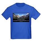 Beauty of Climbing Kids Dark T-Shirt