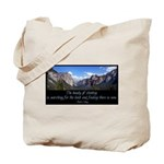 Beauty of Climbing Tote Bag