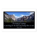 Beauty of Climbing Postcards (Package of 8)