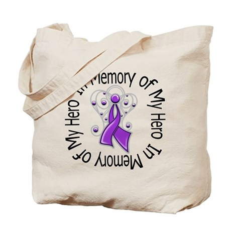 In Memory Alzheimer's Disease Tote Bag