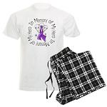 In Memory Alzheimer's Disease Men's Light Pajamas