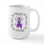 In Memory Alzheimer's Disease Large Mug