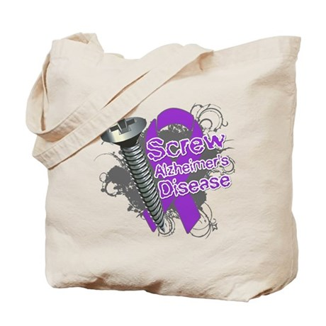 Screw Alzheimer's Disease Tote Bag