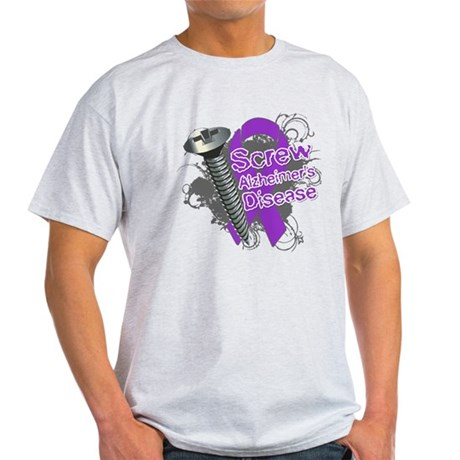 Screw Alzheimer's Disease Light T-Shirt