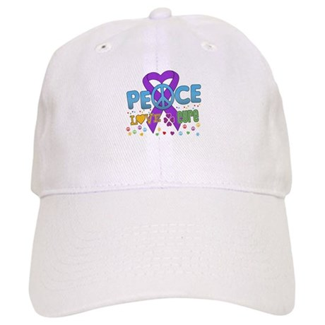 Epilepsy Peace Love Cure Cap