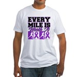 Every Mile Mens Fitted T-Shirt