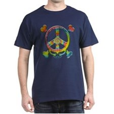 Tie-Dye Peace Pirate T-Shirt