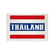 Thailand Flag Rectangle Magnet