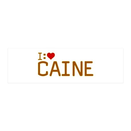 I Heart Caine 21x7 Wall Peel