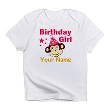Birthday girl custom Infant T-Shirt